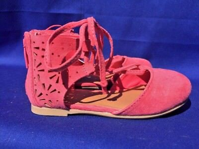 SALE @ CAT & JACK Salmon Pink Hippie Ankle Flats Sandals Toddler Shoes Sz 7](Hippie Toddler)