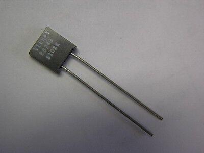 2 Vishay S102k 100k .6w .01 Bulk Metal Foil High Precision Resistors