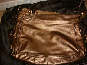 Authentic Coach bag - boutique large copper zoe Kitchener / Waterloo Kitchener Area image 2