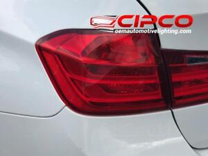 2012 2013 2014 2015 BMW 320i Tail Light, Tail Lamp Left = Driver Side Inner / Used | Clean & Undamaged