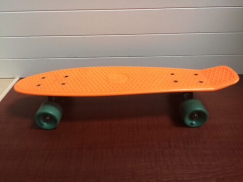 Alliance Skateboards Orange Mini Cruiser Skateboards Deck Is 22 Long