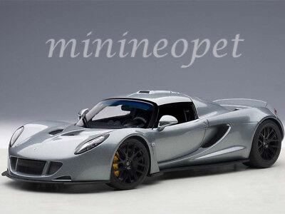 Autoart 75402 Hennessey Venom Gt Spyder 1 18 Diecast Model Car Silver