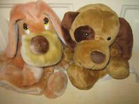 2 Adorable Puppy Golf Club Covers-Very Good Condition!