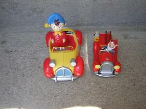 2 LITTLE PLASTIC CARS WITH NODDY(TOYLAND)/TOYS London Ontario image 1