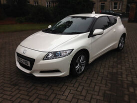 2012 Honda CRZ 1.5 Sport IMA Hybrid plus red leather, very low mileage