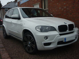 BMW X5 XDRIVE30D M SPORT (white) 2010