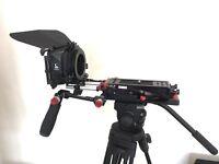 Camera Rig for Sony FS7 & Chrosziel Matte Box