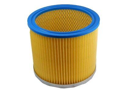 Lamellen Falten Rund Filter gelb für Aqua Vac 8503 B,1000,3000 Plus,6160 F