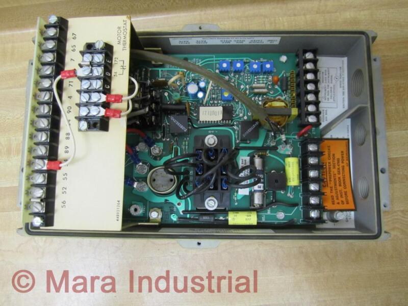 General Electric 6VFWC2100 Motor Control