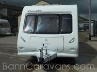 (Ref: 903) 2009 Model Elddis Crusader Superstorm 6 Berth Touring Caravan