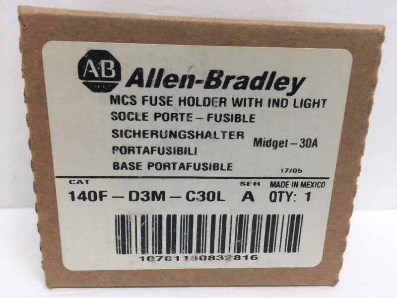 Allen Bradley 140F-D3M-C30L