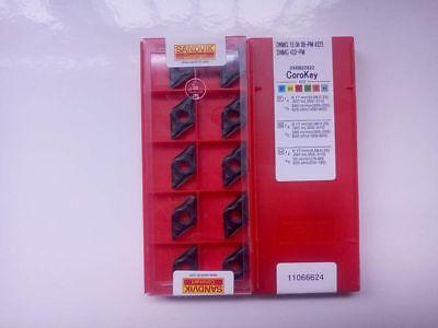 10pcsbox Sandvik Dnmg 432 Pm 4225 Carbide Inserts New Free Shipping