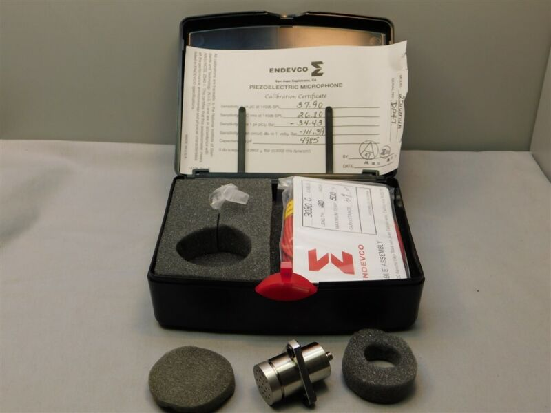 Endevco 2510M4A Piezoelectric Microphone New in Box