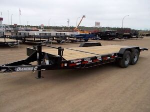 2015 Diamond C 45HDT Flatdeck Car Hauler Trailer