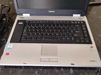 Excellent Toshiba Pentium M 1.6GHz M40 Satellite Pro laptop, boxed as new.
