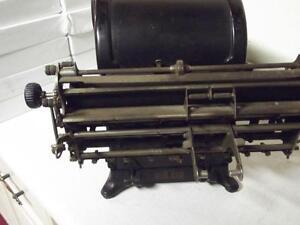 1888-1907 BURROUGHS ADDING MACHINE London Ontario image 6