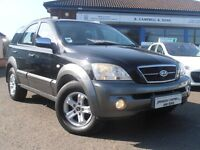 2006 Kia Sorento CRDI XS 4x4 Jeep In Black MOT - 10/2/2018
