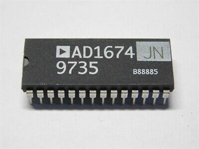 Original Analog Devices Ad1674jn 12-bit 100ksps Analog To Digital Converter Ic
