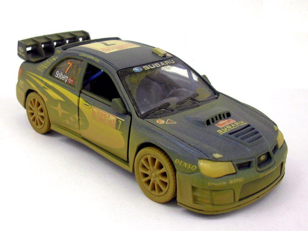 Muddy 2007 Subaru Impreza Wrc Diecast 136 Model Rallye Monte Carlo