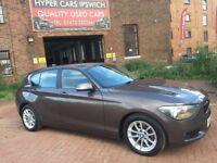 BMW 1 SERIES 118D SE (beige) 2012