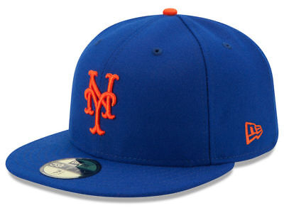 New Era New York Mets GAME 59Fifty Fitted Hat (Royal Blue) MLB (New York Mets Hats)