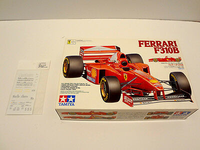 Tamiya 1/20 Ferrari F310B Model Kit 20045 - NIB w/ Bonus Decals