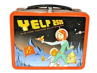 Vintage Yelp 2525 Lunch Box