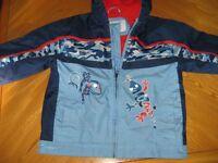 Manteau de printemps, avec capuchon pour garçon 3X