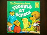 BOOK - The Berenstain Bears' TROUBLE AT SCHOOL