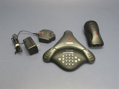 Polycom Voicestation 300 Conference System W Wall Module Soundstation Ita