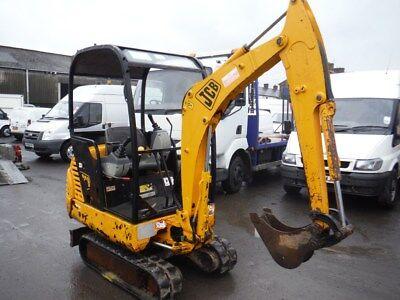 JCB 801.4 801.5 801.6  Mini Crawler Excavator & Engine Workshop Service Manual