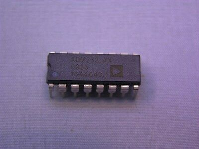 10 Analog Devices Adm232lan 5v Cmos Rs-232 Driversreceivers Ics 16-dip