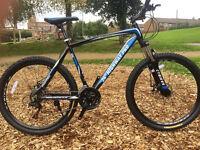"CTBikes Highway Pro Gents ATB Black/Blue 26"" Wheel F Alloy MTB Mountain Bike"