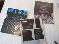 3 issues of The Wire music magazine