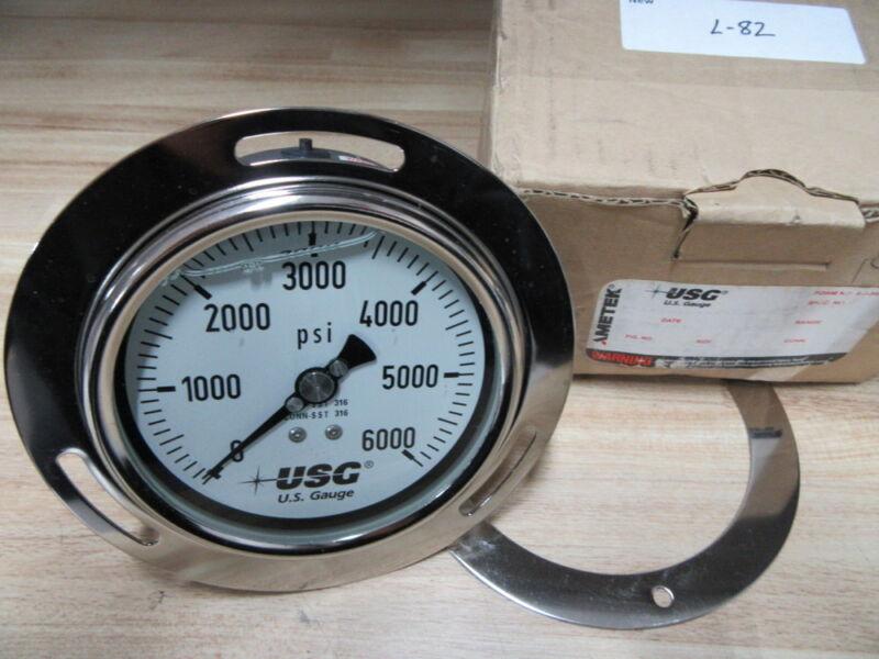 Ametek USG P656 Gauge 0-6000 PSI 356071