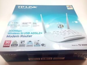 Modem Router TP-Link W8968 Presque neuf