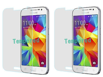 Temp Glass - 2 Temp Glass Screen Protector Samsung Galaxy Core Prime Prevail LTE G360 S820L