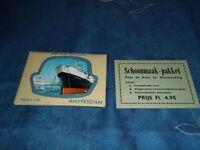 Set of (10) Vintage 1960's Mini Souvenir Postcards of Amsterdam