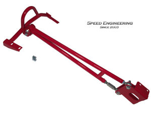 Camaro & Firebird Chassis Mounted Adjustable Torque Arm 1993-02 (Red)