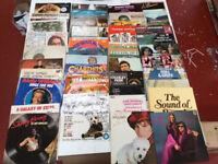Job Lot of 41 LP Vinyl Records