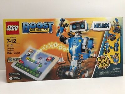 New Lego Boost Build Code Play Creative Toolbox 5In1 Model Nisb Sealed