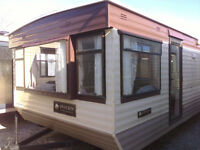 Static caravan 31 x 10 ft / 2 bedrooms, in nice condition, bargain price!