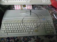 Atari 1040ST computers (2), plus high resolution monitor