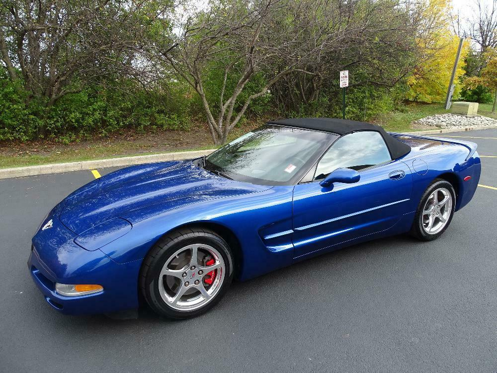2003 Blue Chevrolet Corvette Convertible  | C5 Corvette Photo 7