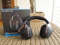 Logitech G933 Gaming Headset Artemis Spectrum 2.4GHz Wireless 7.1 Surround Sound Pro for PC, Xbox