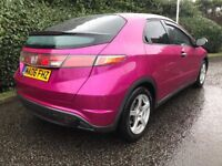 RARE COLOUR* Honda Civic Hatchback 1.4 i-DSI S 5dr hatch IDEAL NEW DRIVER, VOSA HISTORY SMOOTH DRIVE