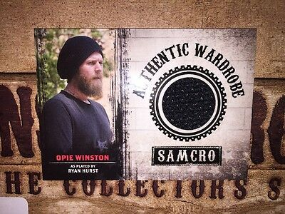Sons Of Anarchy Trading Cards Seasons 1 3 Authentic Wardrobe Opie Hat Card