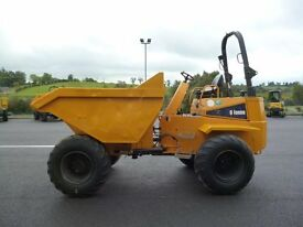 Thwaites 9 ton Dumper, 2011, complete with roll bar