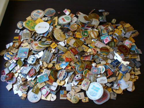 Lot of 25 pcs. Enemal Pin Badge of Soviet Union Communism Different Themes