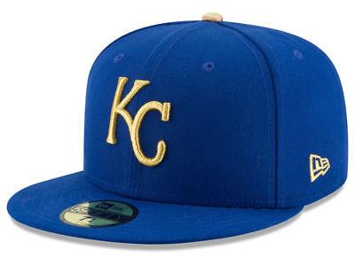 New Era Kansas City Royals ALT 59Fifty Fitted Hat (Royal Blue) MLB Cap - Kansas City Royals Hats